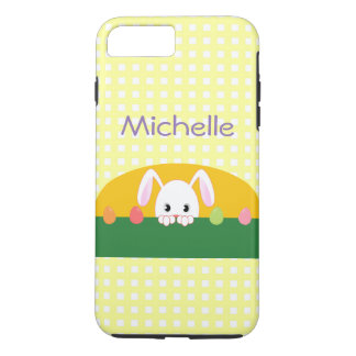 Peeking Bunny Rabbit Personalized Phone Case