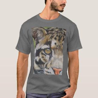 Peeking Clouded Leopard T-Shirt