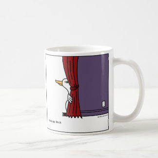 Peeking Duck - Coffee Mug