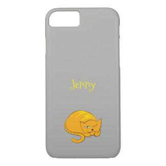 Peeking Kitty Cat Cartoon iPhone 8/7 Case