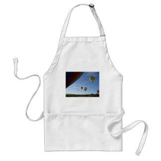 Peeking out standard apron
