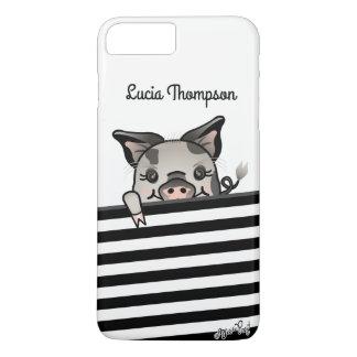 Peeking Piggy iPhone 8 Plus/7 Plus Case
