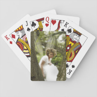 Peeking Through the Tress Playing Cards