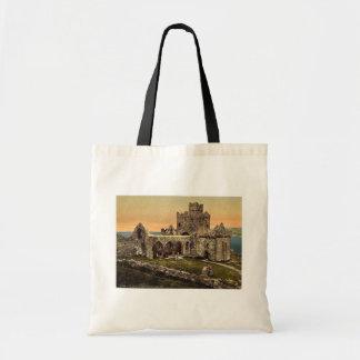Peel, St. Germains Cathedral, Isle of Man, England Tote Bag