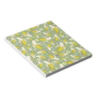 Peeled Bananas Pattern Notepad