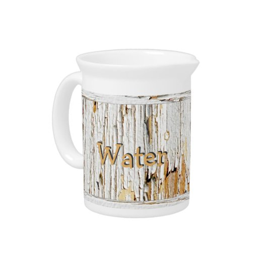 Peeling White Paint Abstract Photography Pitchers
