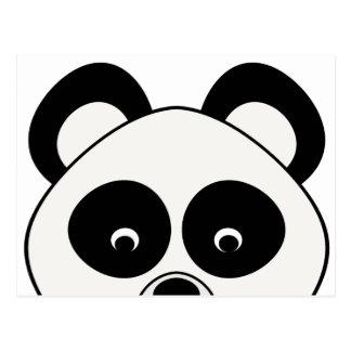 Peeping Panda Postcard