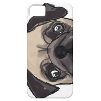Peeping Pug Phone Case