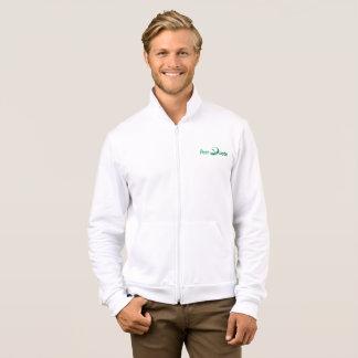 PeerQuote Logo Fleece Zip Jogger Jacket