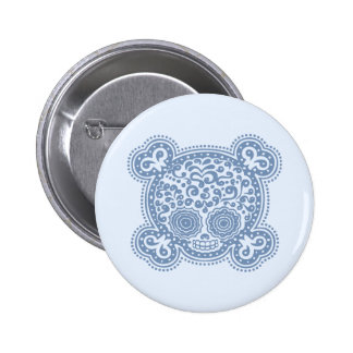 Peewee DOD -blue 2 Inch Round Button