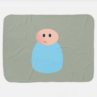 Peg Doll Baby Boy Blanket Swaddle Blanket