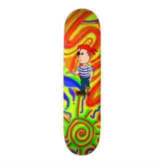 Peg-leg Pirate skateboard