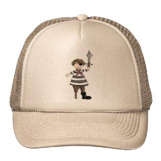 Peg-leg Pirate Trucker Hat