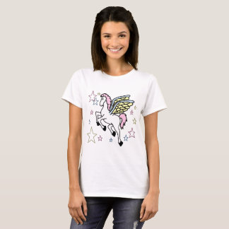 Pegasus And Stars T-Shirt
