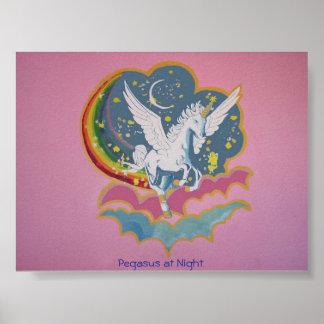 Pegasus at Night Print