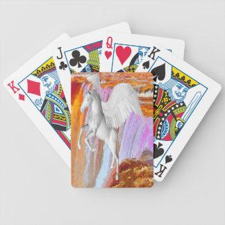 Pegasus Bicycle Playing Cards