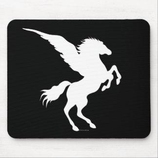 Pegasus Black Mousepad