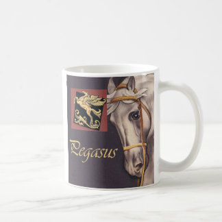 Pegasus Classic White Coffee Mug