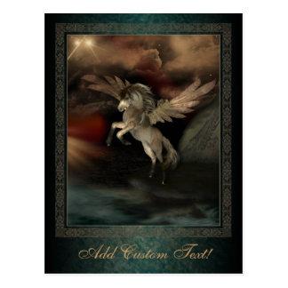 Pegasus Fantasy Art Postcard