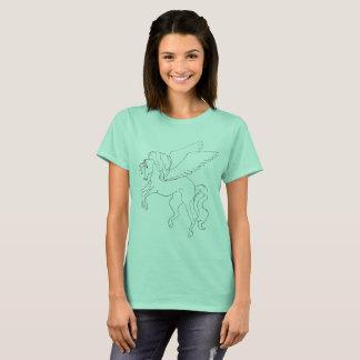 Pegasus Female Teal T-Shirt