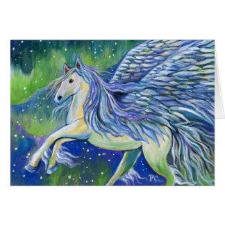 Pegasus In Northern Light Card