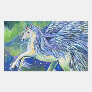 Pegasus In Northern Light Sticker