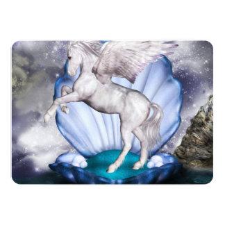 Pegasus 5x7 Paper Invitation Card