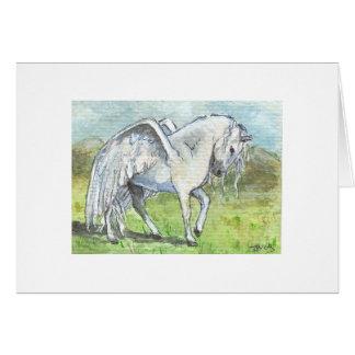 Pegasus Landed Greeting Card
