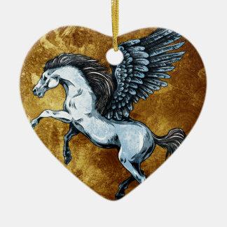 Pegasus Christmas Ornaments