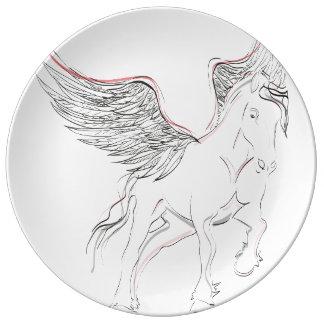 Pegasus Porcelain Plate
