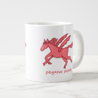Pegasus Posse Large Coffee Mug