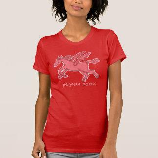 Pegasus Posse Red Women's American Apparel T-shirt