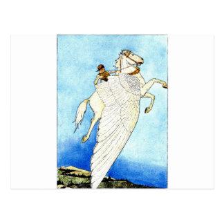 pegasus postcard