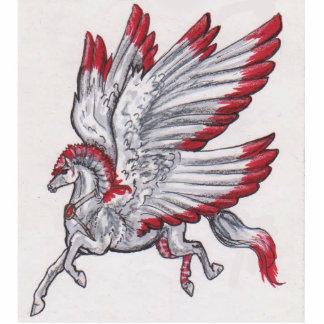 Pegasus Standing Photo Sculpture