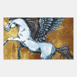 Pegasus Rectangle Sticker