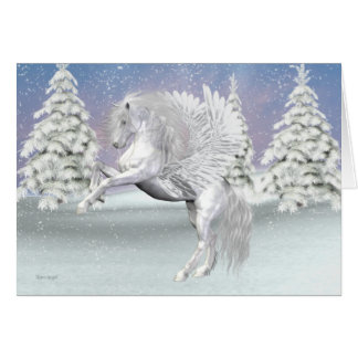 Pegasus .. The winged horse Card