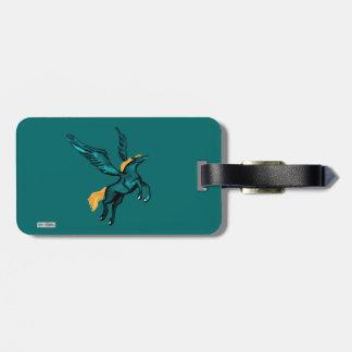 Pegasus (Turquoise) Bag Tag