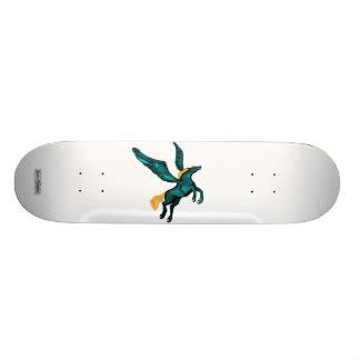 Pegasus (Turquoise) Skateboard