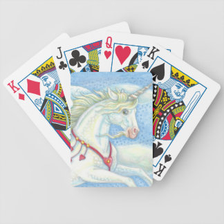 PEGASUS UNICORN Deck Of BICYCLE POKER CARDS Custom
