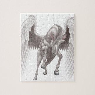 Pegasus Unicorn Winged Horned Horse Jigsaw Puzzle