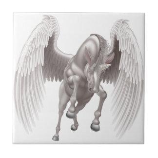 Pegasus Unicorn Winged Horned Horse Tile