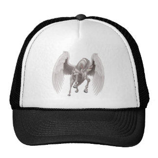 Pegasus Unicorn Winged Horned Horse Trucker Hat