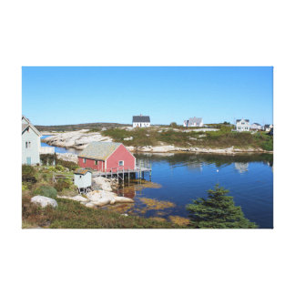 Peggy's Cove 1 Village by the sea Canvas Prints
