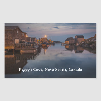 Peggy's Cove Harbour Sticker