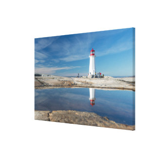 Peggy'S Cove Lighthouse | Canada Canvas Print