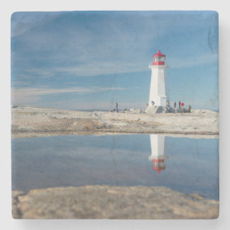 Peggy'S Cove Lighthouse | Canada Stone Coaster