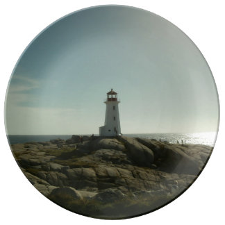 Peggy's Cove Lighthouse Decorative Plate Porcelain Plate