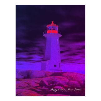 Peggy's Cove  Lighthouse  Nova Scotia post card
