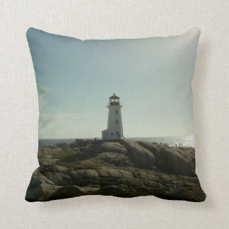 Peggy's Cove Lighthouse Pillow
