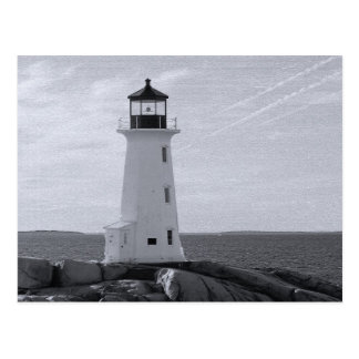 Peggy's Cove Lighthouse Postcard